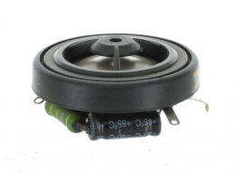 """1.5"""" tweeter with resistor and capacitor -- DT15A-5R-3.3UF"""