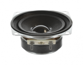 Voice and music wide range speaker 2.5 inch pincushion shape Oaktron model 93006