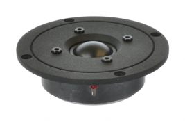 "High-end audio tweeter 1"" with 4"" face plate, round Oaktron model 93023"
