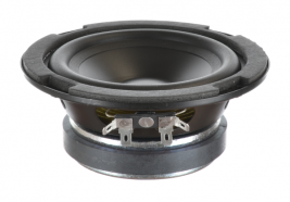 "Indoor woofer with polypropylene cone, 5"" round Oaktron model 93027"