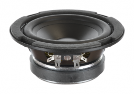 Indoor woofer with a polypropylene cone, 5 inch round Oaktron model 93028