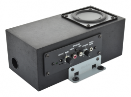 "3"" Enclosed Subwoofer with 2.1 Channel Class-D Amplifier"