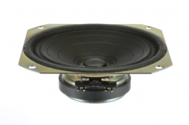 Aerospace voice range speaker 4 inch square OEM model DC4S-FR
