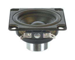 Polypropylene outdoor wide range speaker 2.5 inch square OEM model EN22ER-4A