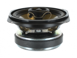 Titanium wide range coaxial speaker 4 inch square OEM model JC40W-4A