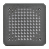 "A 5"" square plastic grille from automotive speakers - 5PG."