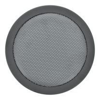 "A round 6.5"" wire mesh grille for automotive speakers - 65RG."