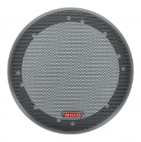 "A 6.5"" black wire mesh grill from MISCO Speakers - 65MG-M."
