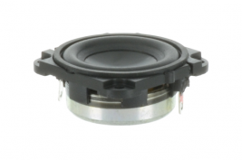 A 1 inch wide range speaker for voice communication systems -- Oaktron 93126.