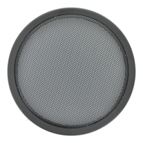 "An 8"" steel trim, wire mesh speaker grille for automotive speakers - 8RG."