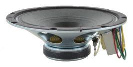 An 8 inch whizzer speaker with 8 watt transformer -- Oaktron model 93131.