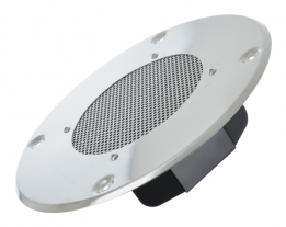 6 inch round voice range speaker with transformer and grille OEM model AX-1364-M
