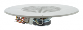 An 8 inch, 8 ohm ceiling speaker assembly from MISCO Speakers -- 93120.