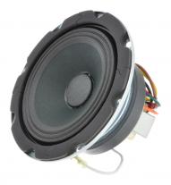 A 4 inch extended range speaker with 4 watt transformer -- Oaktron model 93128.