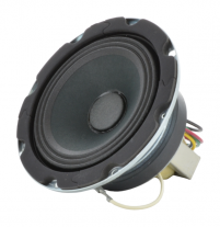 """A 4"""" high compliance speaker with 4 watt transformer for commercial systems -- Oaktron model OK4-T78."""