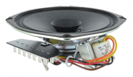 Transit full range speaker with 70 watt transformer & 7-pronged terminal board, 6 inch OEM model N9870-1