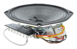 Transit voice and paging speaker with 70 watt transformer & 7-pronged terminal board, 6 inch OEM model N9870-WP
