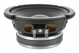 Home audio woofer, 6.5 inch round Oaktron model 93100