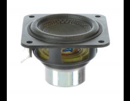 Kevlar indoor wide range speaker 2.25 inch square Oaktron model 93004