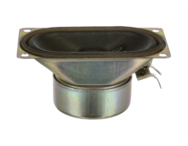 A 1.5 inch oval wide range speaker from MISCO Speakers -- 74OF08-SHWP.