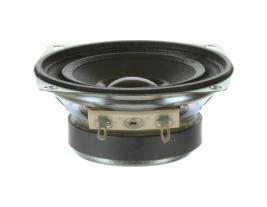 Voice and music wide range speaker 2.5 inch pincushion shape Oaktron model 93005