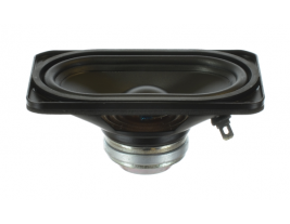High-end wide range speaker 2.25 inch x 4 inch rectangle Oaktron model 93015
