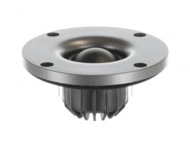Silk dome tweeter speaker, 1 inch round Oaktron model 93019