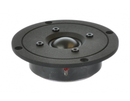 """High-end audio tweeter 1"""" with 4"""" face plate, round Oaktron model 93023"""