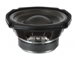 Indoor woofer with paper cone, 5 inch round Oaktron model 93033