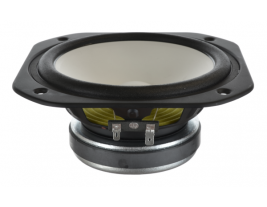 Indoor woofer with paper cone, 7 inch round Oaktron model 93041