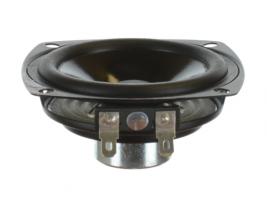 Dual-magnet indoor wide range speaker 3 inch pin cushion shape OEM model EEN3W-4A