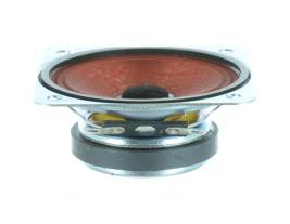 Voice communication voice range speaker 3 inch square OEM model RDC3WP-4