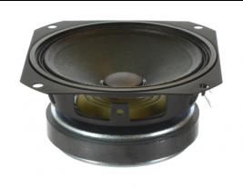 Voice communication mid-range speaker 4 inch square OEM model RJC4C-8WI