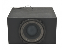 Enclosed sub-woofer 5.25 inch pin-cushion turnkey audio solution kit model SB52-A