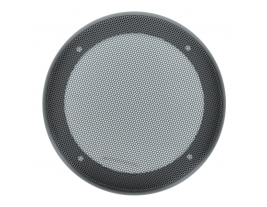 """A 5.25"""" round plastic grille with wire mesh for automotive speakers - 54MG-M."""