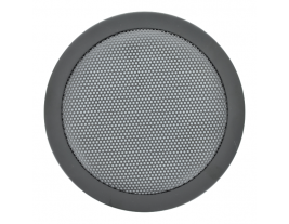 """A round 6.5"""" wire mesh grille for automotive speakers - 65RG."""