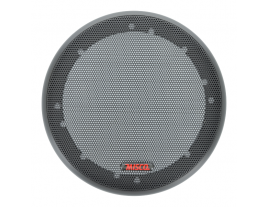 """A 6.5"""" black wire mesh grill from MISCO Speakers - 65MG-M."""
