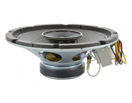 An 8 inch coaxial speaker with a tweeter and 4 watt transformer -- MISCO Speakers mode 93133.