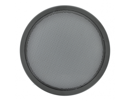 """An 8"""" steel trim, wire mesh speaker grille for automotive speakers - 8RG."""