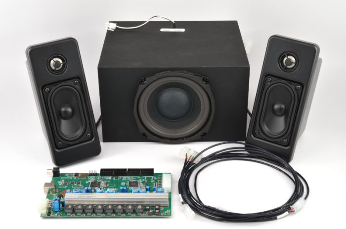 [DIAGRAM_5UK]  2.2.1 CH. DSP Bi-Amped Audio System w/ Subwoofer | Bi Wiring Speakers Harness |  | MISCO Speakers